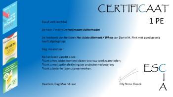 Certificaat template